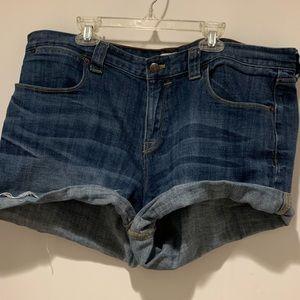 J. Crew Cuffed Jean Shorts